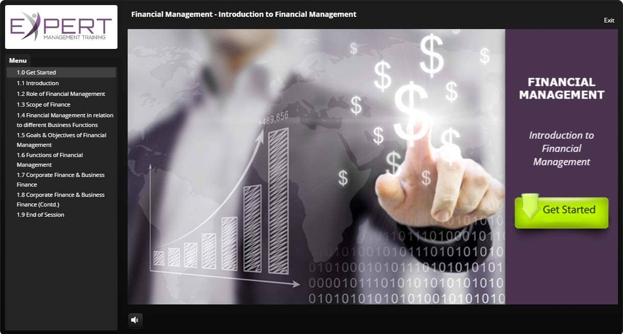 Financial Management Interactive Learning
