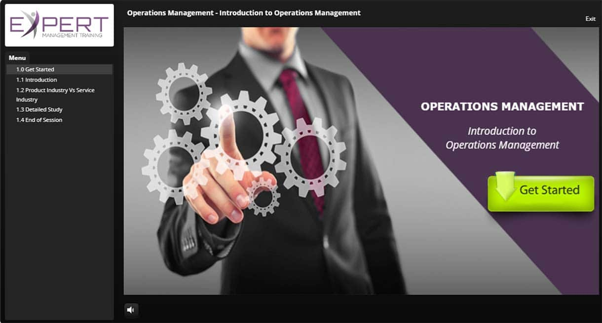 Operations Management Interactive Learning