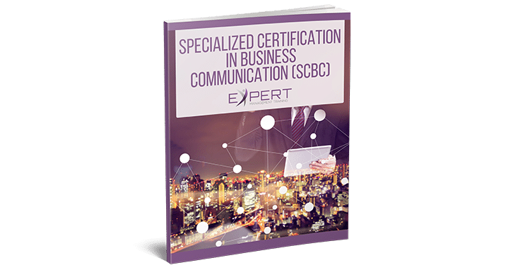 Specialized Certification in Business Communication eBook